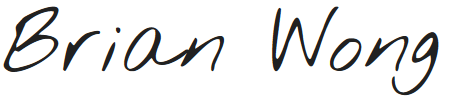 eSignature for Brian Wong
